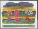 Tuvalu MNH Scott #811 Sheet Of 6 90c Flowers - Tuvalu