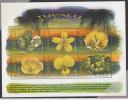 Tuvalu MNH Scott #810 Sheet Of 6 90c Flowers - Tuvalu