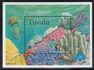 Tuvalu MNH Scott #780 Souvenir Sheet $1.50 Bleached Seriatopora And Stylophora - International Year Of The Ocean - Tuvalu
