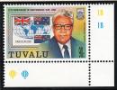 Tuvalu MNH Scott #787 90c Tomasi Puapua - Prime Ministers - 20th Ann Independence - Tuvalu