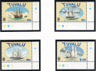 Tuvalu MNH Scott #768 To #771 Set Of 4 Ships - Tuvalu