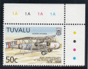 Tuvalu MNH Scott #764 50c Vickers Victoria - 80th Anniversary Of The Royal Air Force - Tuvalu