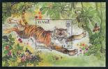 Tuvalu MNH Scott #761 Souvenir Sheet $1.40 Year Of The Tiger - Chinese New Year - Tuvalu