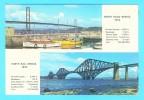Postcard - Forth Rail Bridge, Forth Road Brifge     (V 9453) - Midlothian/ Edinburgh