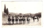 Groupe De 7 Cavaliers, Militaires à Cheval, Gendarmerie ? à AIX ? B/TB - Polizia – Gendarmeria