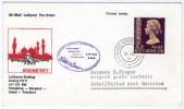 COVER LUFTHANSA ERSTFLUG / FIRST FLIGHT / PREMIER VOL BOEING 747 F  1981 HONG KONG - BANGKOK - DUBAI - FRANKFURT - Altri
