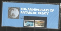 Australian Antarctic Territory 1971 Treaty Anniversay Set In Originally Sealed  Post Office Pack - Territorio Antartico Australiano (AAT)