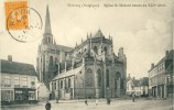 Wervik / Wervicq - Eglise St-Médard Datant Du XIIIe Siècle - 1913 ( Verso Zien ) - Wervik