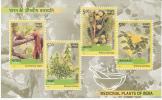 INDIA- 2003 Medicinal Plants- Rare Miniature Sheet-MNH - India
