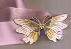 ceinture elastique boucle papillon