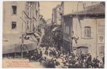 CPA - BOURG-DE-PEAGE (Drôme) - Rue De L'Hotel De Ville - Défilé Du Festival De Musique - Autres Communes