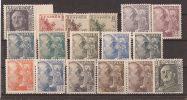 ES1044-LA1000TCO.España  .Spain.Espagne.CID  Y FRANCO. 1949-53 ( Ed 1044/61**)sin Charnela. MAGNIFICA - Celebridades