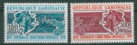 1974-Gabun-Mi: 537-538 (**) - Gabon (1960-...)