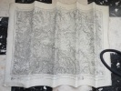 CARTE ETAT MAJOR REGION AVALLON  1/ 80000 DE 1845  ET ENTOILE - Carte Topografiche