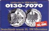 ALLEMAGNE GERMANY DEUTSCHE MARK COINS PIECES MONNAIE MUNZE UT - Timbres & Monnaies