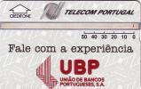 PORTUGAL BANQUE UBP BANK 50U UT - Timbres & Monnaies