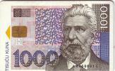 CROATIE CROATIA BANK NOTE BILLET BANQUE 1000 KUNA UT - Timbres & Monnaies