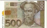 CROATIE CROATIA BANK NOTE BILLET BANQUE 500 KUNA UT - Timbres & Monnaies