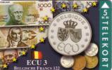 DANEMARK DANMARK PRIVEE ECU BELGIQUE COINS PIECES MONNAIE BILLETS BANQUE BANK NOTES  NEUVE MINT 1500 EX - Timbres & Monnaies