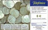 ESPAGNE SPAIN PIECES MONNAIE COINS TELEFON TELEPHONE UT - Timbres & Monnaies