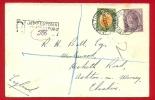 Registered Cover 1922 From JEPPESTOWN JOHANNESBURG B.O. To England. - Afrique Du Sud (...-1961)