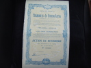 "Action"" Tramways De Buenos Ayres ""1946  Bon état. (railway) Argentine Argentina - Chemin De Fer & Tramway"