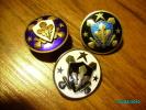 ESTONIA PRE-WW II, FULL SET OF MILITARY SPORTS BADGES , BADGE - Militaria
