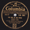 78 Tours - Columbia D.B. 2907 - FRANKIE LAINE - THE GIRL IN THE WOOD - WONDERFUL, WASN´T IT - 78 T - Disques Pour Gramophone