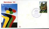 SPAGNA BARCELLONA XXV OLIMPIADE 1992 FDC FILAGRANO #1 - Sommer 1992: Barcelone
