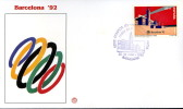 SPAGNA BARCELLONA XXV OLIMPIADE 1992 FDC FILAGRANO #3 - Sommer 1992: Barcelone