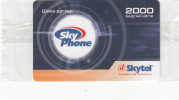 MONGOLIA - Sky Phone, Skytel Prepaid Card 2000 Units, Exp.date 06/06, Mint