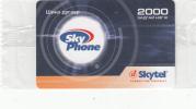 MONGOLIA - Sky Phone, Skytel Prepaid Card 2000 Units, Exp.date 06/06, Mint - Mongolei