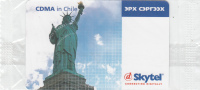 MONGOLIA - CDMA In Chile, Skytel Prepaid Card, Exp.date 04/06, Mint