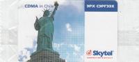 MONGOLIA - The Statue Of Liberty, CDMA In Chile, Skytel Prepaid Card, Exp.date 04/06, Mint - Mongolia