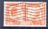 Italy 414  (o) - 1900-44 Vittorio Emanuele III