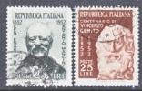 Italy 616-7  (o) - 1946-60: Used