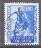 Italy 636  (o)  AGRO.  EXPO.  ROMA - 1946-60: Used