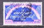 Italy 638  (o)  NATO - 1946-60: Used