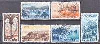 Italy 641-6  (o)  TOURISM  VIEWS - 1946-60: Used