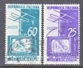 Italy 649-50  (o)  T.V. SERVICE - 1946-60: Used