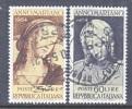 Italy 663-4  (o) - 1946-60: Used