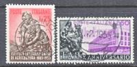 Italy 698-9  (o)  FAO - 1946-60: Used