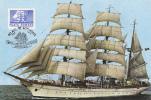 MIRCEA SHIP, ROMANIAN MILITARY MARINE, 1979, CM. MAXI CARD, CARTES MAXIMUM, ROMANIA - Maritiem