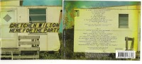 Gretchen Wilson - Here For The Party - Deluxe Edition, CD + DVD !!!   - Original - Country & Folk