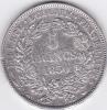 Piece 5 Francs Argent 1850A - - J. 5 Francos