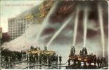 EE.UU.--1910--New York-- Bomberos---High Pressure I Action - Bombero