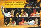 Tuvalu MNH Scott #1068 Sheet Of 2 Strips Of 3 $1 Elvis´ ´Aloha From Hawaii´ Concert 35th Anniversary - Tuvalu