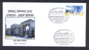 GERMANY ALLEMAGNE 2012. SPECIAL POSTMARK. SPRING STAMPEX 2012 LONDON. HYDE PARK CORNER - Esposizioni Filateliche