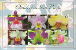 Tuvalu MNH Scott #1067 Sheet Of 6 $1 Orchids Of The South Pacific - Tuvalu