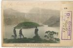 Rare Registered Card Laguna De Cuicocha Imbabura, Certificada , Carte Recommendée 1909 - Equateur